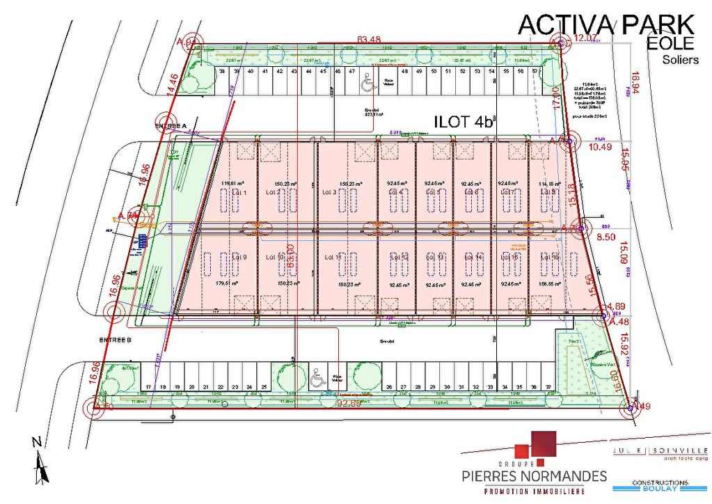 Local d'activité - Soliers - 180 m² Lot 9